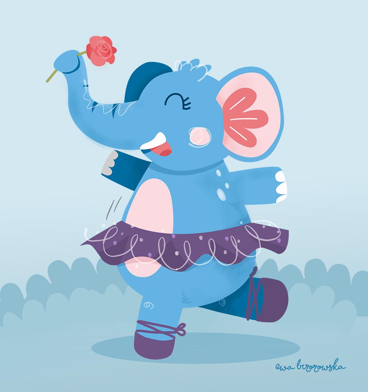 Elephant Ballerina